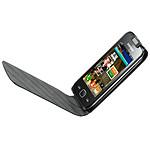 Samsung Etui Noir à rabat pour Samsung Wave 575