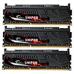 G.Skill Sniper Series 12 Go (3x 4Go) DDR3 1600 MHz