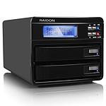 RAIDON GR3630-2S-WBS2