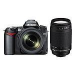 Nikon D90 + Objectifs AF-S DX Nikkor 18-105mm f/3.5-5.6G ED VR + AF NIKKOR 70-300mm f/4-5.6G