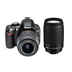 Nikon D3100 + Objectifs  AF-S DX NIKKOR 18-55 mm VR + AF NIKKOR 70-300mm f/4-5.6G