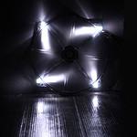 BitFenix Spectre LED blanco 200 mm