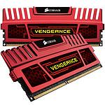 Corsair Vengeance Series 8 Go (kit 2x 4 Go) DDR3 1600 MHz CL7 Rouge
