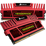 Corsair Vengeance Series 16 GB (kit 2x 8 GB) DDR3 1600 MHz CL10 Rojo
