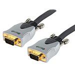Câble haute qualité VGA mâle/mâle (1.8 m)