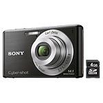 Sony CyberShot DSC-W530 Noir + Carte SD 4 Go