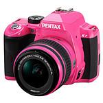 Pentax K-r Rose + Objectif DA L 18-55mm