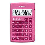 Casio Petite FX Rose - Calculatrice de poche du CP au CE2