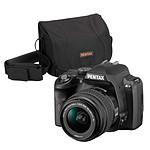 Pentax K-r Noir + Objectif DA L 18-55mm + Sacoche
