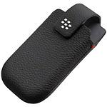 BlackBerry Etui en cuir noir avec clip ceinture (pour Torch 9800/9810)
