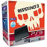 Sony PlayStation 3 Slim 320 Go Pack Resistance 3 + Dualshock 3