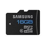 Samsung MicroSDHC 16 Go - Carte mémoire classe 6 étanche et insensible aux aimants
