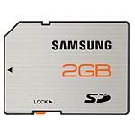 Samsung SD 2 Go - Carte mémoire classe 4 étanche et insensible aux aimants