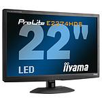 """iiyama 21.5"""" LED - ProLite E2274HDS-B2"""