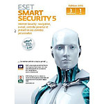 ESET Smart Security 5 - Licence 1 an 3 postes (français, WINDOWS)