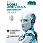 ESET NOD32 Antivirus 5 - Licence 1 an 3 postes (français, WINDOWS)