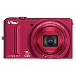 Nikon Coolpix S9100 Rouge