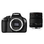 Canon EOS 1100D + Objectif Sigma 18-200 mm f/3,5-6,3 DC