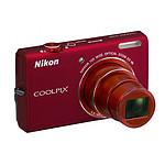 Nikon Coolpix S6200 Rouge Passion + Carte SDHC 8 Go