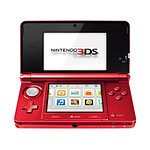 Nintendo 3DS Rouge Metal
