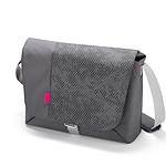 Dicota Bounce Messenger 15-16 (coloris gris/rose)
