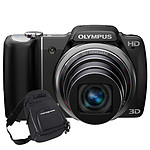 Olympus SZ-10 Noir + Fourre Tout