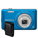 Olympus VG-120 Bleu + Etui Universel
