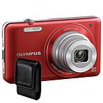 Olympus VG-120 Rouge + Etui Universel
