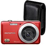 Olympus VG-110 Rouge + Etui universel