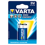 Varta High Energy 6LR61/9V 1 pile
