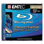 EMTEC BD-RE 25 Go Certifié 2x (Blu-ray Disc simple couche, boitier jewel)