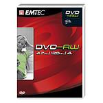 EMTEC DVD-RW 4.7 Go certifié 4x (pack de 5, boitier DVD)