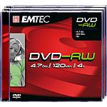 EMTEC DVD-RW 4.7 Go certifié 4x (pack de 3, boitier jewel)