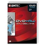 EMTEC DVD+RW 4.7 Go certifié 4x (pack de 5, boîtier DVD)