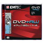 EMTEC DVD+RW 4.7 Go certifié 4x (pack de 5, boîtier jewel)