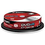 EMTEC DVD+R 4.7 Go certifié 4x (pack de 10, spindle)