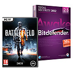 Battlefield 3 (PC) + Bitdefender Total Security 2012 - Licence 2 ans 3 postes (Offre Attachement )