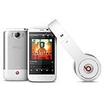 HTC Sensation XL et Casque Beats By Dre Blanc