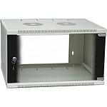 Dexlan coffret réseau - fixe - largeur 19'' - hauteur 6U - profondeur 45 cm - charge utile 35 kg - coloris gris