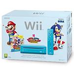 Nintendo Mario & Sonic aux J.O de Londres 2012 Wii  Pack Bleue - Edition Limitée