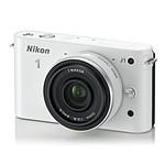 Nikon 1 J1 Blanc + Objectif 1 NIKKOR 10 mm f/2.8