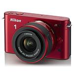 Nikon 1 J1 Rouge + Objectif 1 NIKKOR VR 10-30 mm f/3.5-5.6