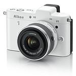Nikon 1 V1 Blanc + Objectif 1 NIKKOR VR 10-30mm f/3.5-5.6