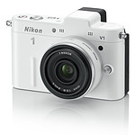 Nikon 1 V1 Blanc + Objectif 1 NIKKOR 10 mm f/2.8