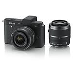 Nikon 1 V1 Noir + Objectifs 1 NIKKOR VR 10-30mm f/3.5-5.6 + 30-110 mm f/3.8-5.6