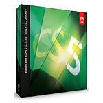 Adobe Creative Suite 5.5 Web Premium - Mise à jour depuis CS2 ou CS3 (français, WINDOWS)
