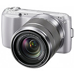 Sony NEX-C3 Argent + Objectif 18-55 mm