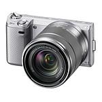 Sony NEX-5N Argent + Objectif 18-55 mm