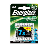 Energizer AccuRecharge Precision Blister de 4 piles HR06 2400 mAh