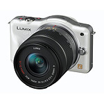 Panasonic Lumix DMC-GF3 Blanc avec objectif VARIO 14-42mm